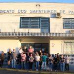 Diretoria do Sindicato dos Trabalhadores de Parobé – RS