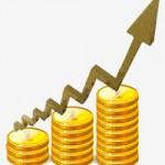 Índice de aumento salarial em 8%