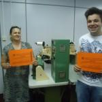 Galeria- Formatura curso de operador de máquina viradeira de calçados