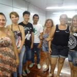 Formatura dos alunos dos cursos de costura de calçados e operador de máquina viradeira -19/12/2013