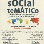 Fórum Social Temático – De 21 a 26 de janeiro de 2014