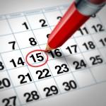 Informativo sobre o período de férias e recesso
