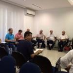 João Nadir Pires participa de reunião preparatória para o 9º Fórum Sindical Sul