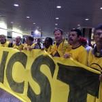 Sindicalistas de Parobé participam de manifesto