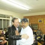 Entrevista com João Nadir Pires no café da manhã com o Senador Paulo Paim