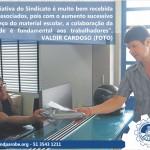 Sindicato iniciou distribuição de material escolar aos associados