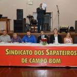 Diretoria do Sindicato dos Sapateiros de Campo Bom foi empossada no último sábado