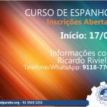 Inscrições abertas para o curso de Espanhol no Sindicato