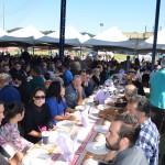 Almoço Comunitário reúne 3 mil sapateiros