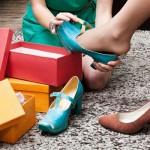 Venda de calçados têm primeira alta do ano