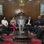 Senador Paim e Centrais Sindicais fecham acordo com Renan para apresentação do relatório da terceirização
