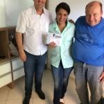 Solange Ferreira da Silva, ganhadora do Fiat MOBI 0 km