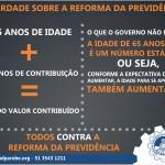 Todos contra a reforma da previdência