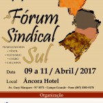 11º Fórum Sindical Sul acontecerá em abril