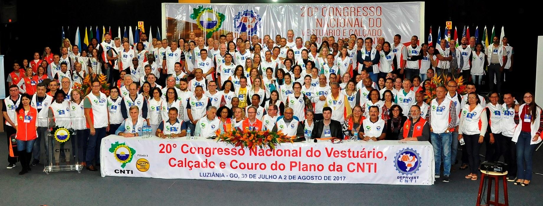 Participaram do Congresso centenas de sindicalistas de todo País