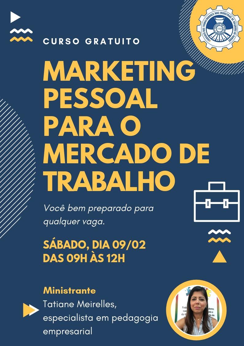 Ministrado pela pedagoga empresarial, Tatiane Meireles, curso vai qualificar jovens para a entrada no mercado de trabalho.