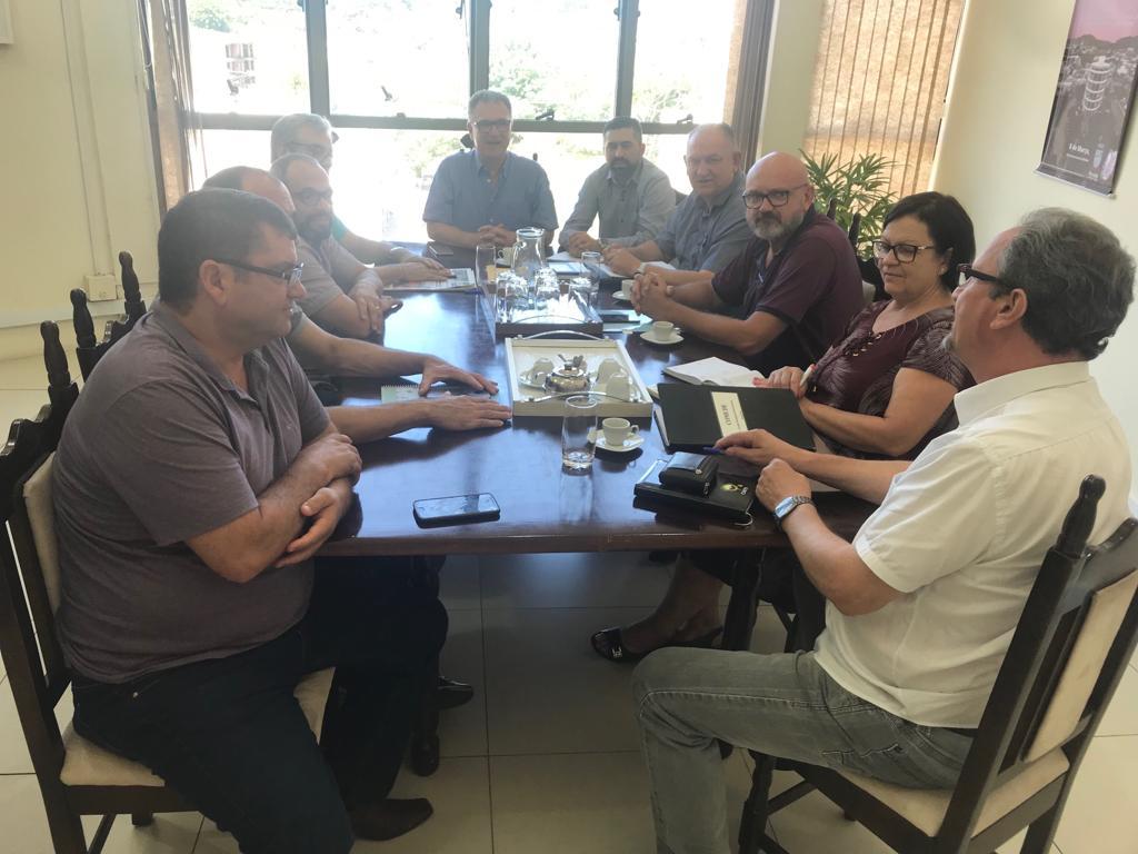 Reunião teve como objetivo apresentar a pauta de demandas do conselho municipal.