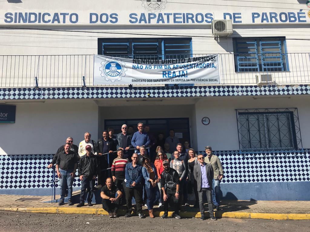 Entidades que participam da FETICVERGS se reuniram em Parobé