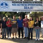 Sindicato dos Sapateiros de Parobé realiza atividade no Dia do Trabalhador