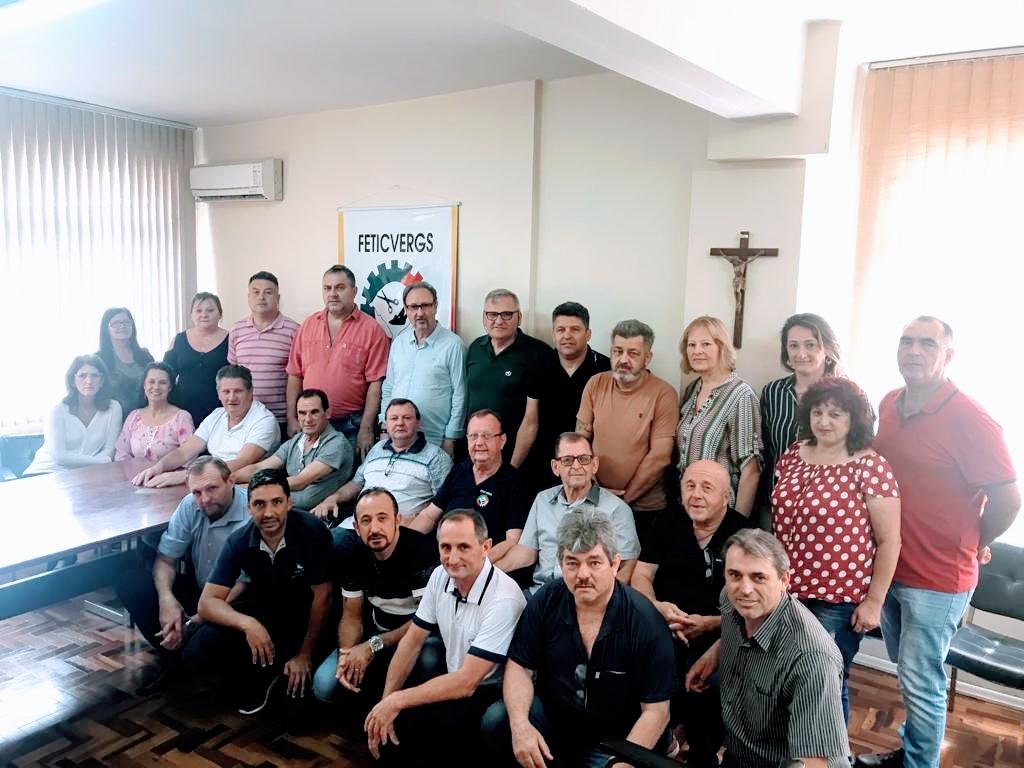 Mais de 20 entidades sindicais participaram do pleito nesta quinta-feira.
