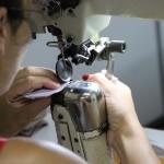 Inscrições para o treinamento de costura de calçados