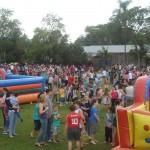 Festa reúne mais de duas mil crianças