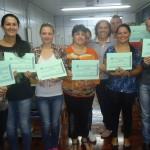 Formatura dos alunos do curso de costura de calçados-11/04/2014