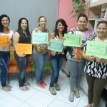 Formatura dos alunos dos cursos de costura e máquina viradeira de calçados -11/12/2014