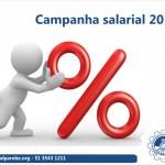 Começa a campanha salarial