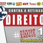 Manifesto contra a retirada de direitos ocorrerá amanhã em Poa