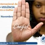 Dia mundial da não-violência contra a mulher