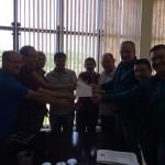 Assinado documento de intenções para a instalação da Usaflex em Parobé