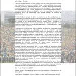 Por eleições democráticas e contra as propostas de reformas Trabalhista e Previdenciária