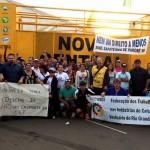 Centrais Sindicais ocupam Brasília, em defesa dos direitos dos trabalhadores