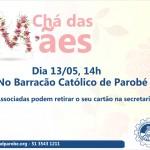 Chá das Mães será realizado dia 13 de maio