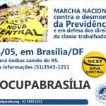 Marcha Nacional acontece dia 24 de maio