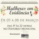 Câmara de Vereadores de Parobé promove semana alusiva ao Dia Internacional da Mulher