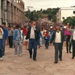 Maior greve de trabalhadores da região completa 28 anos
