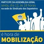 Hora de mobilizar os trabalhadores de Parobé
